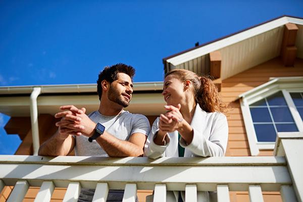 Home Buyer Couple