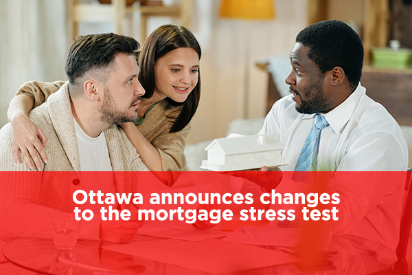 Announcement: Mortgage Stress Test Changes