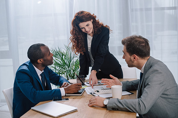 Meeting With A Broker Buying