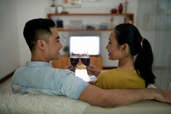 Home Buying Stress Couple
